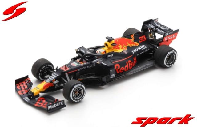 spark 1/43 Aston Martin Red Bull Racing RB16 No.33 Red Bull RacingWinner 70th Anniversary GP 2020  Max Verstappen