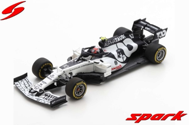 Spark 1/43 AlphaTauri AT01 No.10 Scuderia AlphaTauri F1 Team Winner Italian GP 2020 Pierre Gasly