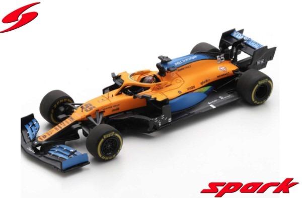 Spark 1/43 McLaren MCL35 No.55 McLaren F1 Team 2nd Italian GP 2020 Carlos Sainz Jr.