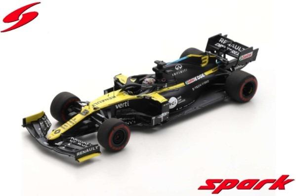 Spark 1/43 Renault R.S. 20 No.31 Renault DP World F1 Team 2nd Sakhir GP 2020 Esteban Ocon