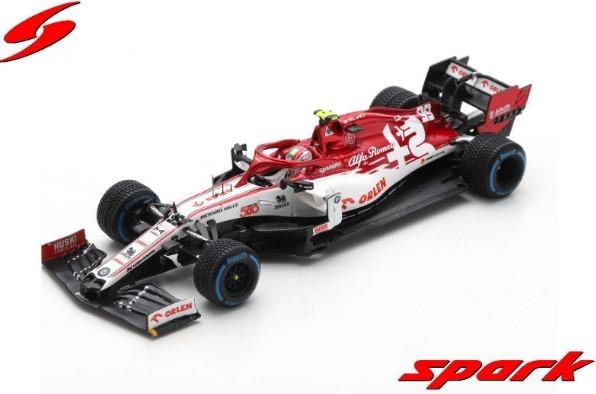 Spark 1/43 Alfa Romeo Racing ORLEN C39 No.99 Turkish GP 2020 Sauber 500th Race A.Giovinazzi