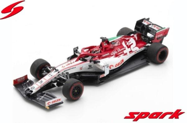 Spark 1/43 Alfa Romeo Racing ORLEN C39 No.7 Emilia-Romagna GP 2020 Kimi Raikkonen