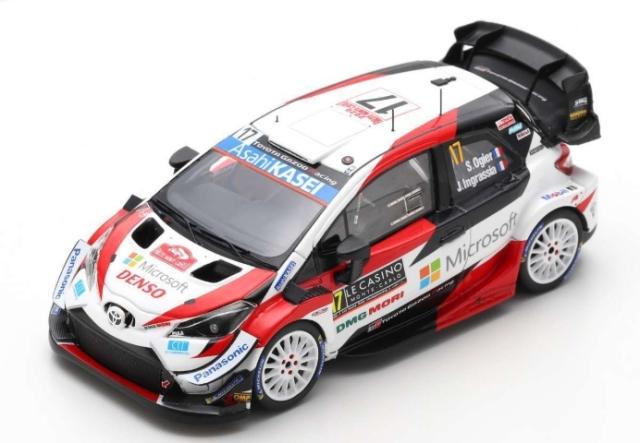 spark 1/43 TOYOTA Yaris WRC TOYOTA GAZOO Racing WRT No.17 2nd Rally Monte Carlo 2020 S.Ogier - J. Ingrassia