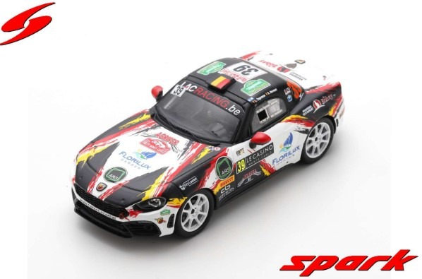 Spark 1/43 Abarth 124 Rally RGT Rally MonteCalro 2020