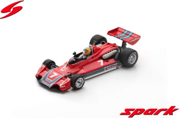 Spark 1/43 Brabham BT45 No.7 Canadian GP 1976 Larry Perkins