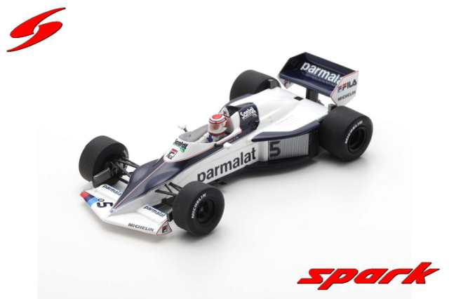 【spark】 1/43 BRABHAM BT52 NO.5 WINNER BRAZILIAN GP 1983 NELSON PIQUET