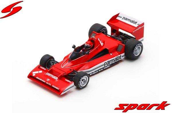 Spark 1/43 Brabham BT45C 2nd Argentinian GP 1978 Niki Lauda