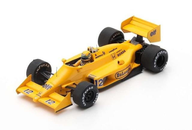 Spark 1/43 Lotus 99T No.12 Winner Monaco GP 1987 Ayrton Senna