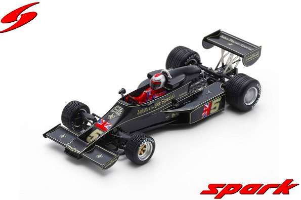 Spark 1/43 Lotus 77 No.5 Winner Japanese GP 1976Mario Andretti