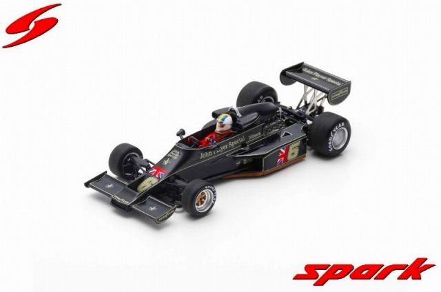 Spark 1/43 Lotus 77 No.6 3rd Austrian GP 1976 Gunnar Nilsson