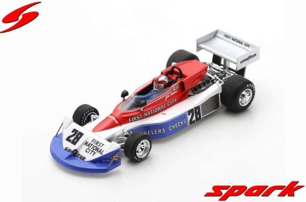 Spark 1/43 Penske PC3 No.28 Belgian GP 1976 John Watson