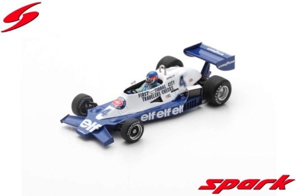 Spark 1/43 Tyrrell 008 No.4 3rd Argentine GP 1978 Patrick Depailler