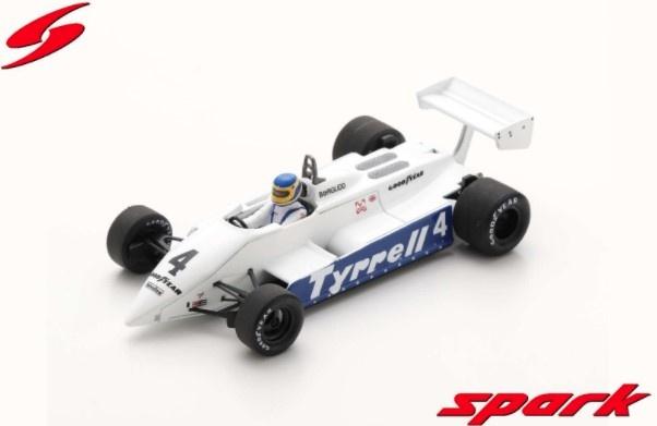 Spark 1/43 Tyrrell 011 No.4 South African GP 1982 Slim Borgudd