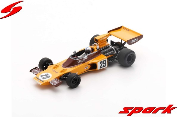 Spark 1/43 Lotus 72E No.29 South African GP 1974 Ian Scheckter