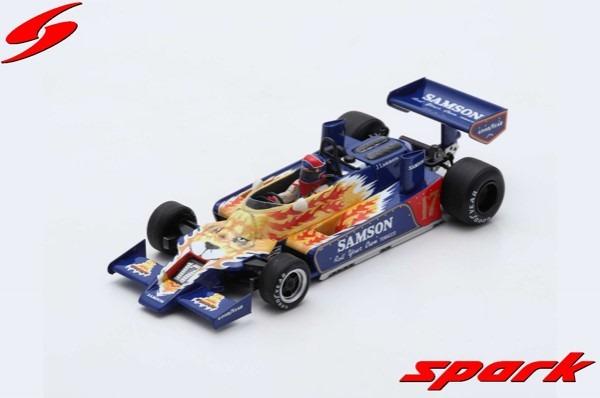 Spark 1/43 Shadow DN9 No.17 Practice Monaco GP 1979 Jan Lammers