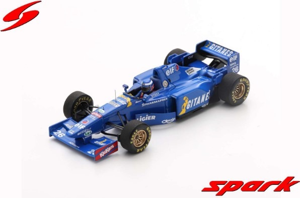 Spark 1/43 Ligier JS41 No.26 4th Canadian GP 1995 Olivier Panis
