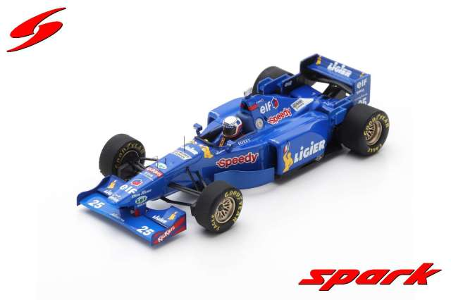 spark 1/43 LIGIER JS41 NO.25 FRENCH GP 1995 MARTIN BRUNDLE