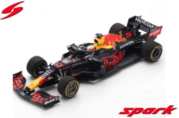 Spark 1/43 レッドブル レーシング ホンダ RB16B 2021 エミリア・ロマーニャGP ウィナー #33 M.フェルスタッペン
