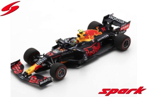 Spark 1/43 レッドブル レーシング ホンダ RB16B 2021 アゼルバイジャンGP ウィナー #11 S.ペレス ピットボード付き