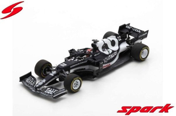Spark 1/43 AlphaTauri AT02 No.22 Scuderia AlphaTauri 9th Bahrain GP 2021 角田 裕毅