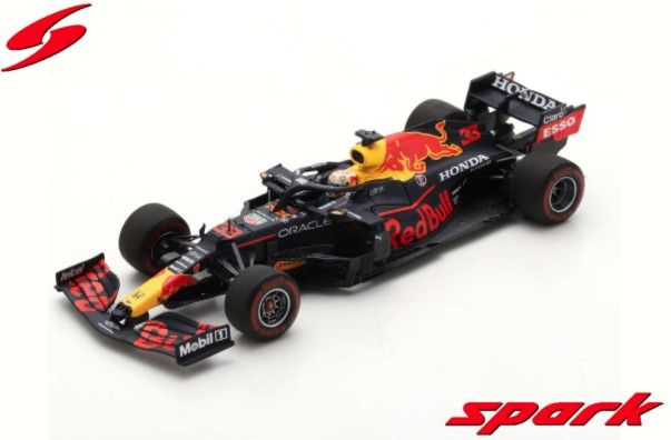 Spark 1/43 Red Bull Racing Honda RB16B No.33 2nd Spanish GP 2021M.Verstappen 100th GP