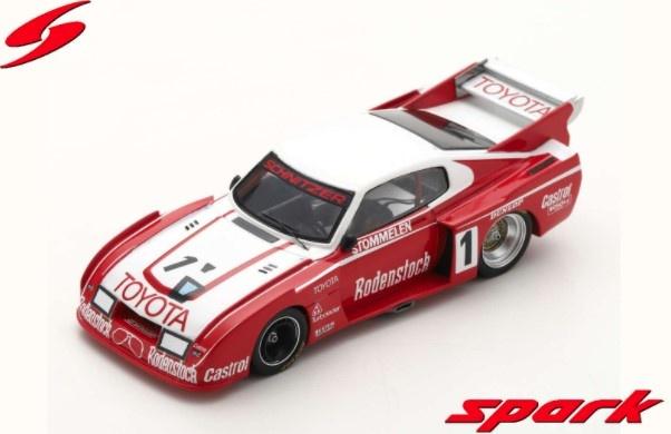 Spark 1/43 Toyota Celica LB Turbo GR5 No.1 DRM Hockenheim 1978 Rolf Stommelen