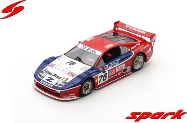 Spark 1/43 Nissan 300 ZX No.76 24H Le Mans 1994 P. Gentilozzi - S. Kasuya - E. van de Poele