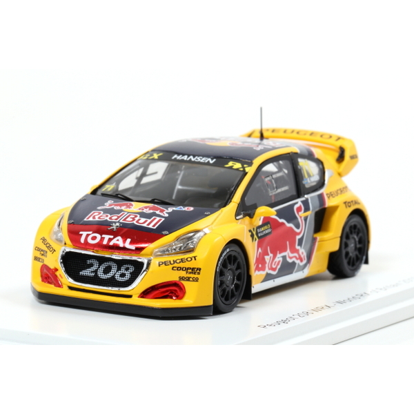 【Spark】 1/43 Peugeot 208 WRX No.71 Rd.4 World RX of Great Britain 2018 Kevin Hansen