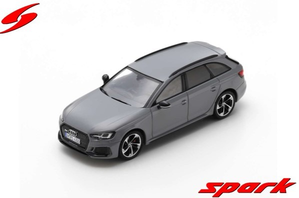 Spark 1/43 Audi RS 4 2018 Nardo Grey