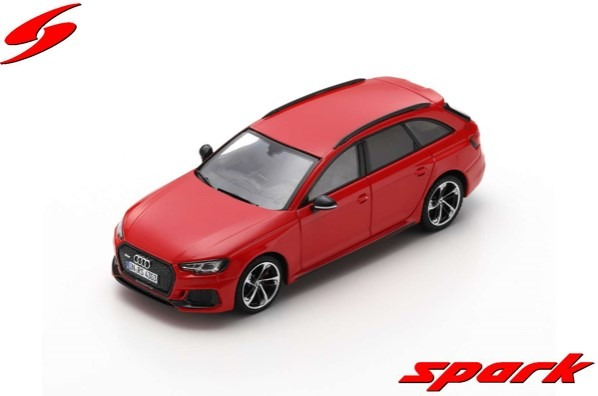 Spark 1/43 Audi RS 4 2018 Misano Red