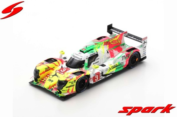 Spark 1/43 Rebellion R13 - Gibson No.3 5th 24H Le Mans 2019 T. Laurent - N. Berthon - G. Menezes