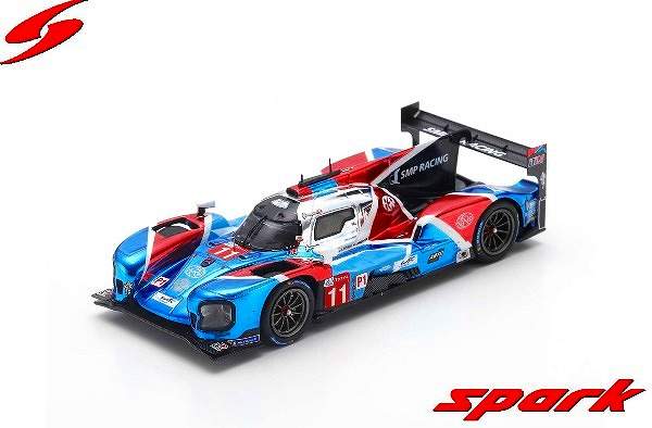 Spark 1/43 BR Engineering BR1 - AER No.11 SMP Racing  3rd 24H Le Mans 2019