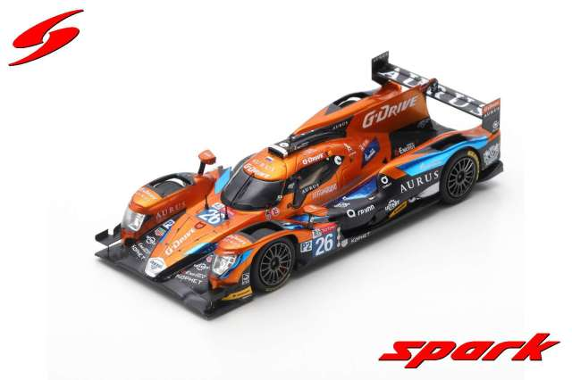 Spark 1/43 AURUS 01 No.26 G-Drive Racing 24H Le Mans 2019 R. Rusinov - J. van Uitert - J-E. Vergne
