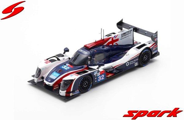 Spark 1/43 Ligier JS P217 - Gibson No.32 United Autosports 24H Le Mans 2019