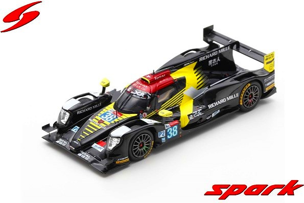 Spark 1/43 ORECA 07 - Gibson No.38 Jackie Chan DC Racing 2nd LMP2 class 24H Le Mans 2019