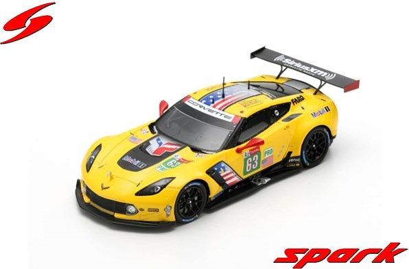Spark 1/43 Chevrolet Corvette C7.R No.63 Corvette Racing 24H Le Mans 2019