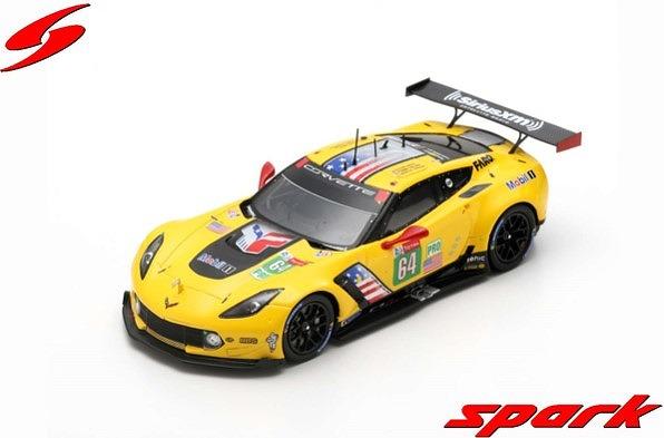 Spark 1/43 Chevrolet Corvette C7.R No.64 Corvette Racing 24H Le Mans 2019