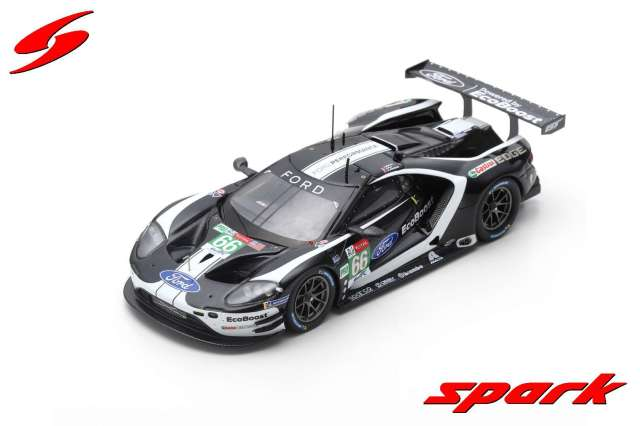 spark 1/43 FORD GT NO.66 FORD CHIP GANASSI TEAM UK 24H LE MANS 2019 S. M?CKE - O. PLA - B. JOHNSON