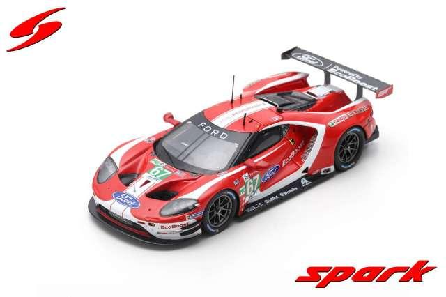 Spark 1/43 Ford GT No.67 Ford Chip Ganassi Team UK 24H Le Mans 2019