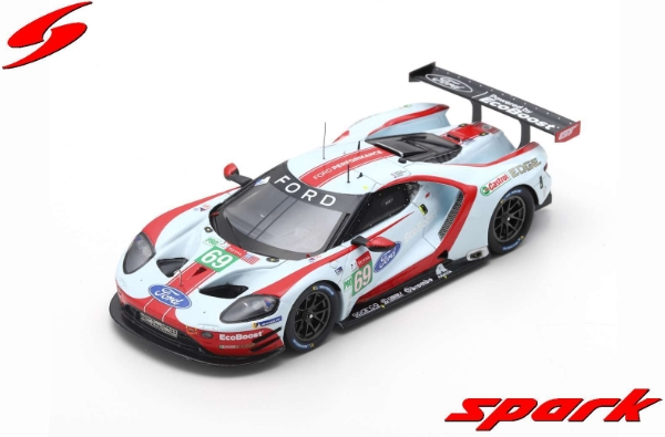 spark 1/43 FORD GT NO.69 FORD CHIP GANASSI TEAM USA 24H LE MANS 2019 R. BRISCOE - R. WESTBROOK - S. DIXON