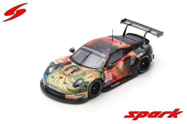Spark 1/43 Porsche 911 RSR No.56 Team Project 1 Winner LMGTE Am class 24H Le Mans 2019
