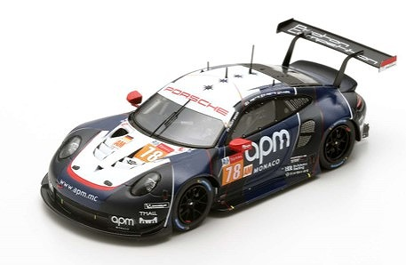 Spark 1/43 Porsche 911 RSR No.78 Proton Competition 24H Le Mans 2019
