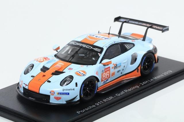 [Spark] 1/43 Porsche 911 RSR No.86 Gulf Racing 24H Le Mans 2019 M. Wainwright - B. Barker - T. Preining