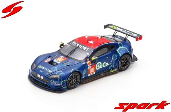 Spark 1/43 Aston Martin Vantage GTE No.90 TF Sport 24H Le Mans 2019