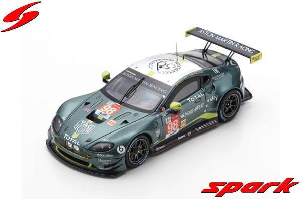 Spark 1/43 Aston Martin Vantage GTE No.98 Aston Martin Racing 24H Le Mans 2019
