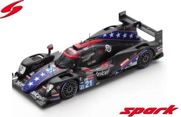 Spark 1/43 Oreca 07 - Gibson No.21 DragonSpeed USA 24H Le Mans 2020 T. Buret - J. P. Montoya - M. Rojas