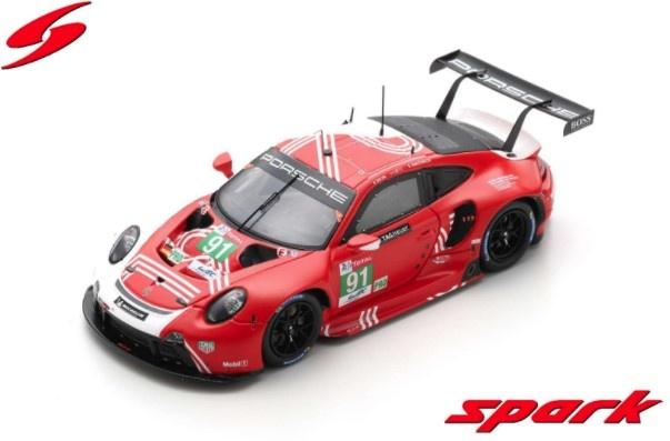 Spark 1/43 ポルシェ 911 RSR-19 ポルシェGTチーム 2020 ルマン24H #91 G.ブルーニ/R.リーツ/F.マコヴィッキィ