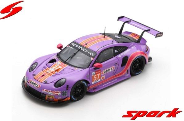 Spark 1/43 Porsche 911 RSR No.57 Team Project 1 24H Le Mans 2020 J. Bleekemolen - F. Fraga - B. Keating