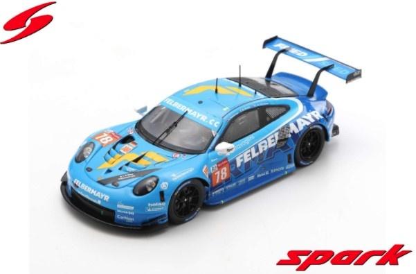 <予約 2021/3月発売予定> Spark 1/43 Porsche 911 RSR No.78 Proton Competition - 24H Le Mans 2020