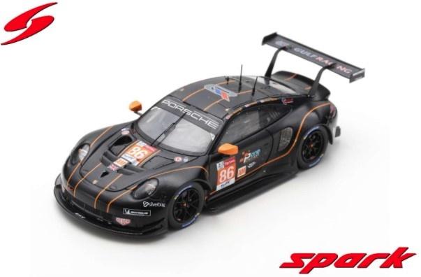 <予約 2021/1月発売予定> Spark 1/43 Porsche 911 RSR No.86 Gulf Racing - 24H Le Mans 2020